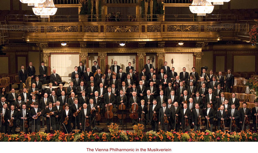 The Vienna Philharmonic in the Musikveriein